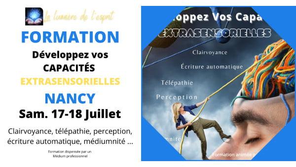 NANCY DÉVELOPPMENT EXTRASENSORIEL 17-18 juillet 2021