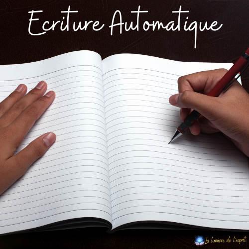écriture automatique en médiumnité