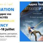 Formation médiumnité Nancy juillet 202